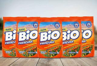 Pack 18kg  Detergente en Polvo BioFrescura Desierto Florido