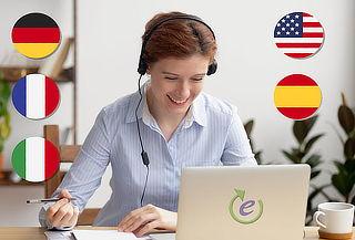 Aprenda otro Idioma! Ingles, Frances, Italiano o Alemán!