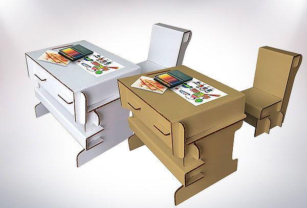 Muebles Armables de Cartón Resistentes a elección