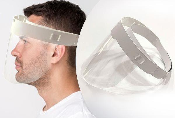 1, 5 o 10 Protectores Faciales ajustable con velcro
