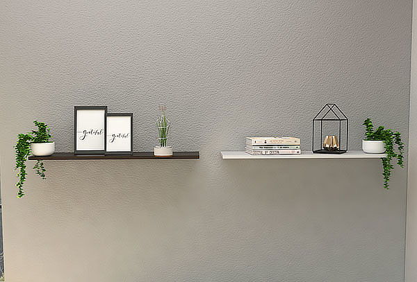 Repisa Vassel Wall z 160 Habano / Blanco