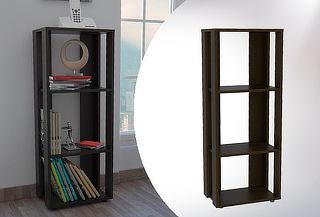 Librero Office Wengue Marca Tuhome