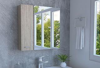 Botiquín con espejo TuHome modelo Barcelona