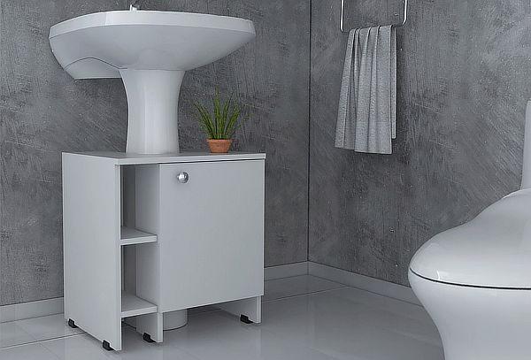 Optimizador Lavamanos Bath 47-a Blanco Marca Tuhome