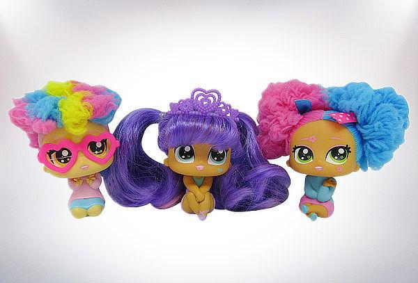 Muñecas small doll hair dooz shampoo