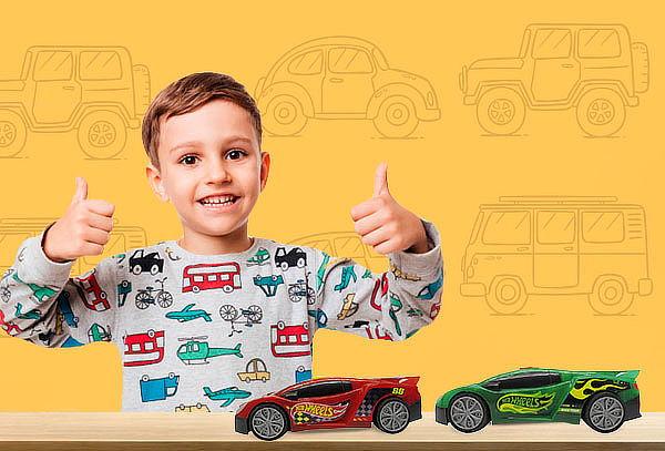 Vehiculos Light & Sound Hot Wheels speedy, Color a eleccion