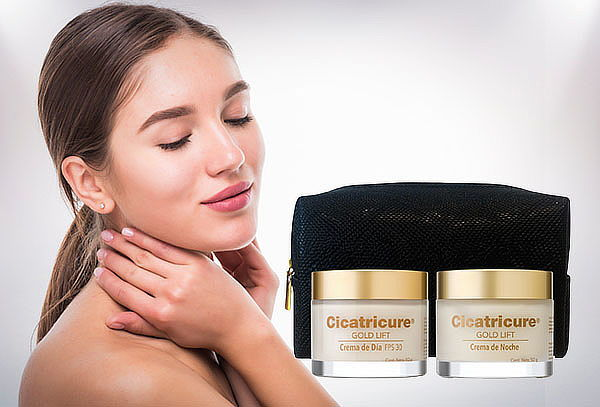 Pack cicatricure Gold Lift Dia + Noche 50 G.
