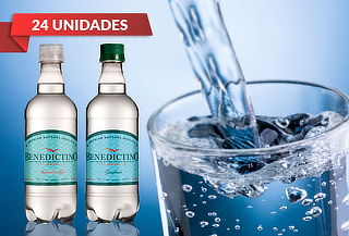 24 Botellas de Agua Purificada Benedictino 500 cc