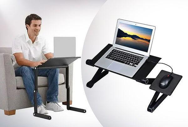 Mesa Multifuncional Portátil Ajustable para Notebook Laptop