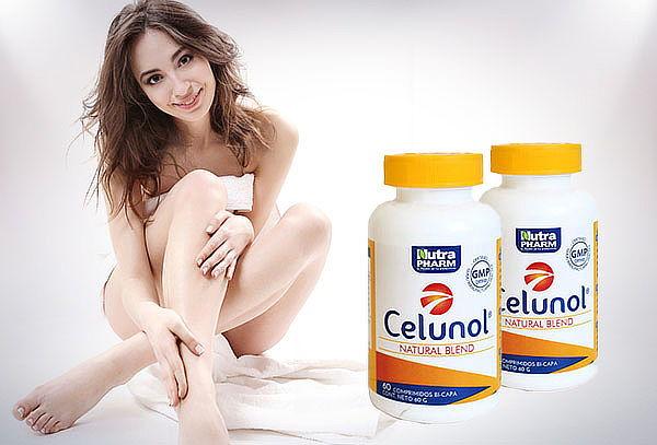 ADIOS CELULITIS! Pack de 2 Frascos Celunol Nutrapharm