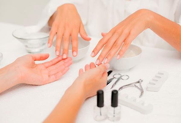 Spa de manos + manicure permanente! Salon Las lilas