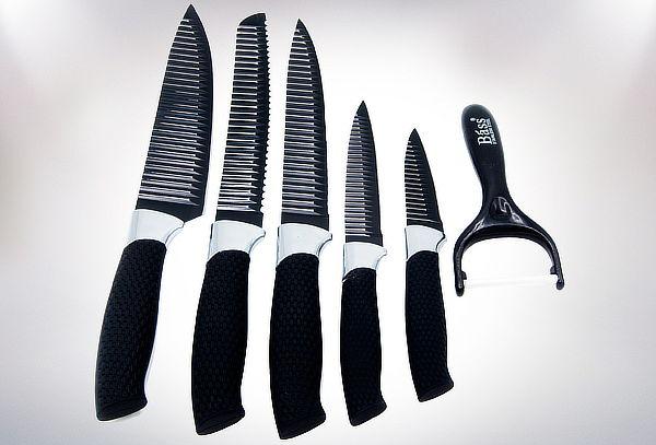 Set de 5 Cuchillos de Cocina + Pelador