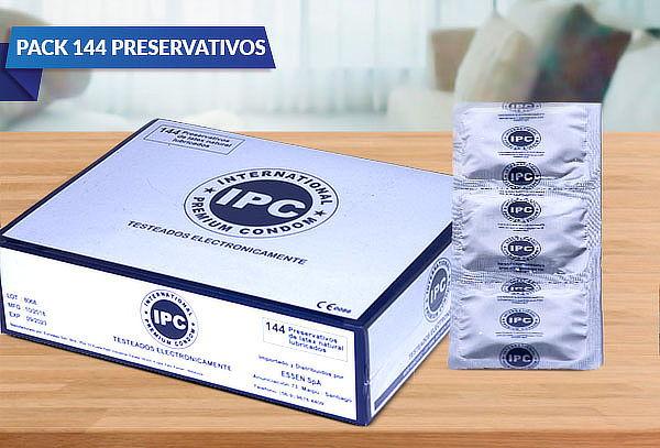 ¡Siempre preparado! Pack 144 Preservativos IPC