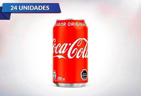 Pack de 24 Latas de Coca-Cola 350 cc a elección