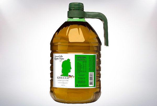 Aceite de Oliva Extra Virgen Grecco 5 lts