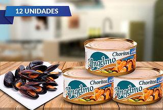 Pack de 12 Choritos Angelmo Aceite o Agua