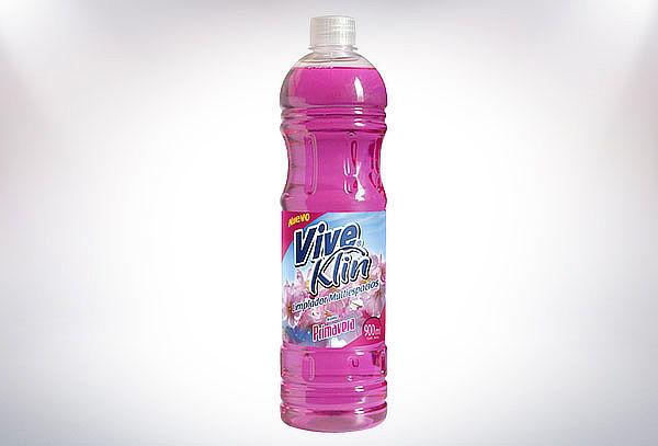 12 Botellas De 900 cc. De Limpiapisos Viveklin variedades