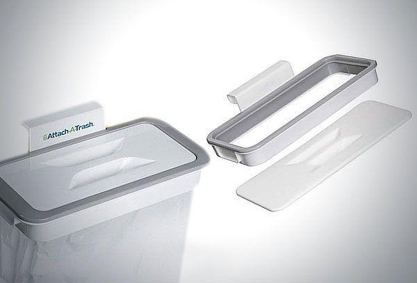 Pack de 2 Colgadores de Bolsa para la basura portatil