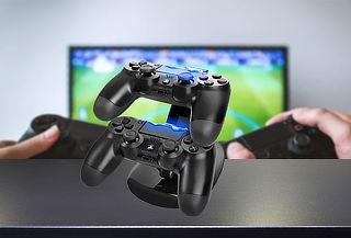 Estación de Carga Doble para PS4