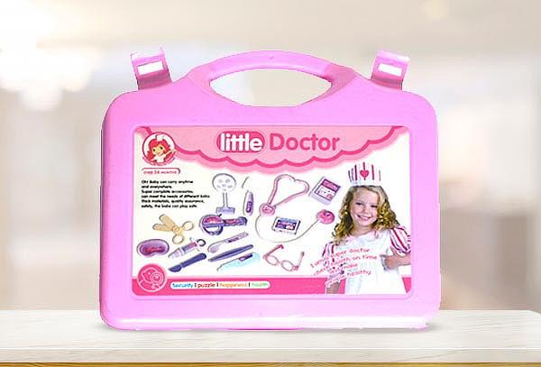 Kit Maleta Doctor Medico Juguete Niños 14 piezas