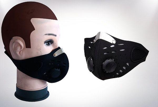 Mascara Deportiva Con Filtro Carbón Mascarilla