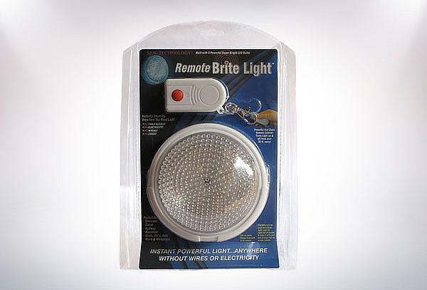 Foco Luz LED Con Control Remoto
