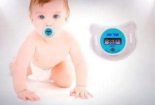 Termómetro Chupete Digital Bebes Cuidado Niños