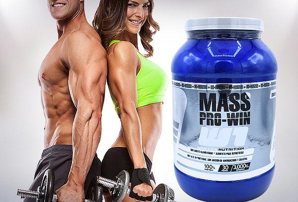 Proteína Mass Pro-Win de 3 kg, Sabor a Elección