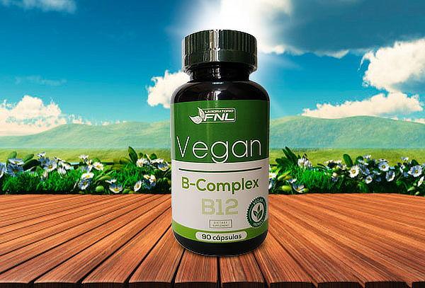 B complex Vegan B12 Laboratorio FNL