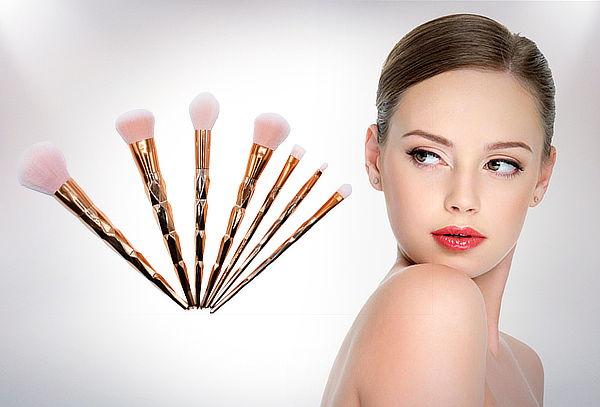 Set 7 Pinceles de Maquillaje