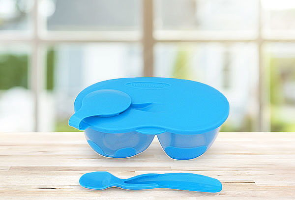 Set Doble De Alimentacion Azul