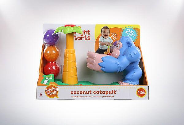 Juguete Mono Catapulta Coconut