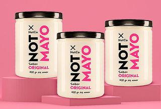 Pack 3 frascos Not Mayo Original 400 grs