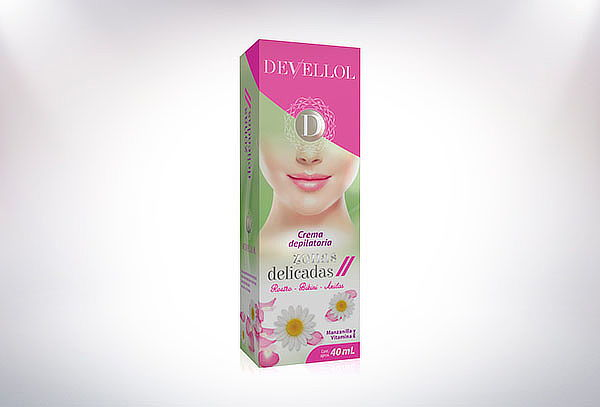 Crema Depilatoria Devellol Zonas Delicadas 40 ml