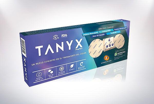 Parche Electrocéutico Contra el Dolor TANYX®