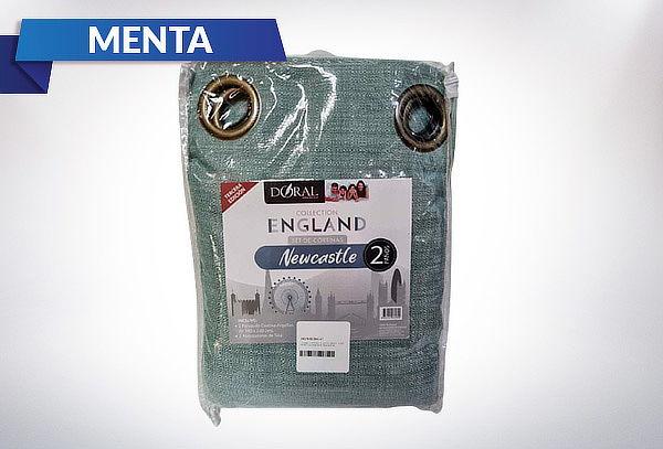 Set de Cortinas 2 Paños England Newcastle
