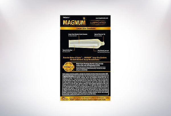 Pack trojan Premium 12 Magnum + Lubricante a elección