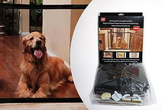 Puerta Mágica Portátil para Mascotas