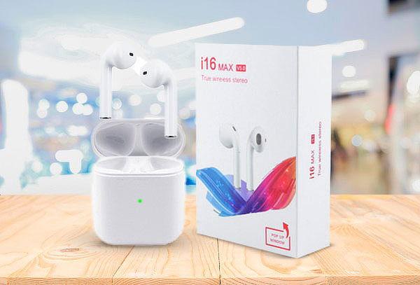 Audífonos i16 Max inalámbricos