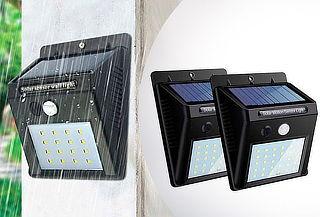 2 Focos Solares con Sensor de Movimiento