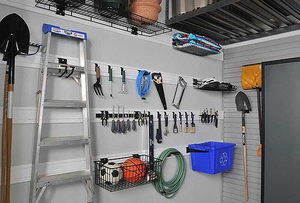2 Paneles Organizadores de PVC para Bodegas + Accesorios