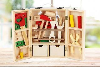 Caja de Herramientas Infantil de Madera