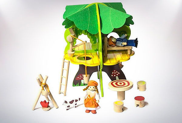 Casa Árbol Infantil de Madera