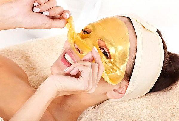 Máscara Facial de Colágeno de Belleza Oro 60gr