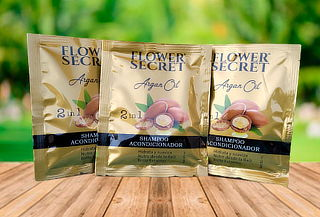 Sachet Shampoo & Acondicionador 20ml Flower Secret