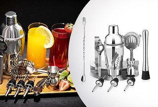 Cuarentena en Casa ! Kit Coctelera metálica 12 piezas