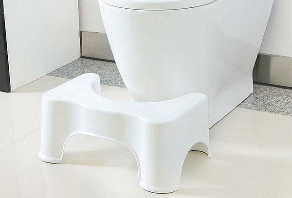 ¡Mejora tu postura al ir al baño! Taburete de Baño