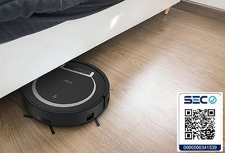 Aspiradora Robot Thorben Digi Bot Wifi Negro