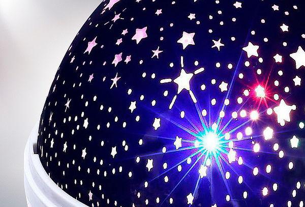 Espanta Cuco Led Proyector de Estrellas 3 Colores a Elección