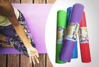 ¡Ejercítate en Casa! Mat de Yoga 6mm